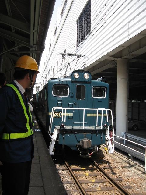 秩父鉄道熊谷駅SL登場2.JPG